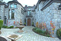 Whistler Basalt stone facade