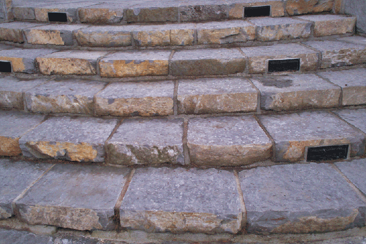 Basalt Stones Product : Basalt stone steps natural