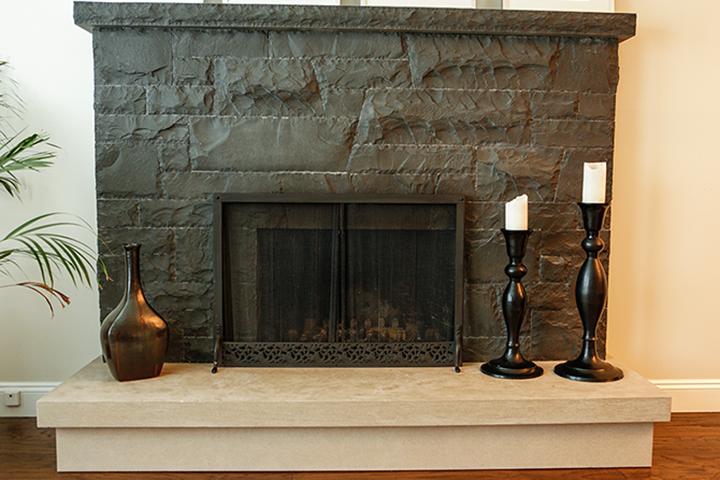 Stone Fireplace Surround | Bedrock Natural Stone