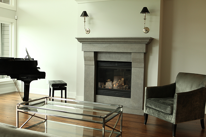 Stone Fireplace Surround | Bedrock Natural Stone