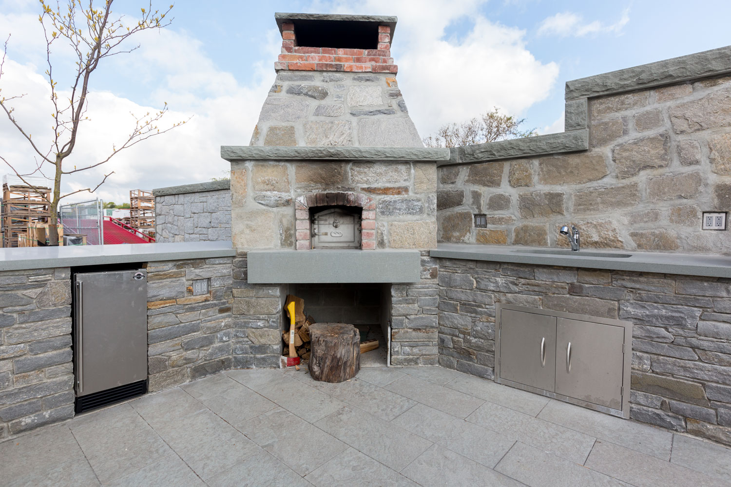 Wood Fired Brick Ovens Bedrock Natural Stone