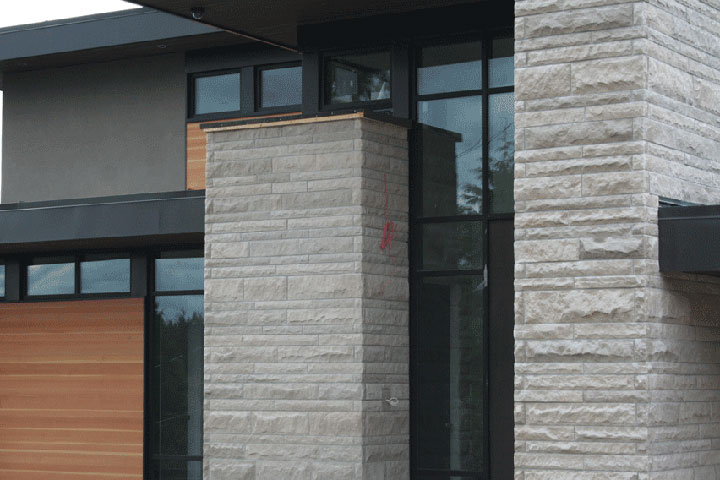 Limestone Ashlar Veneer Country Estate