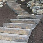 basalt stone steps
