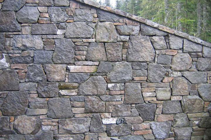 Basalt And Granite : Whistler basalt random veneer bedrock natural stone