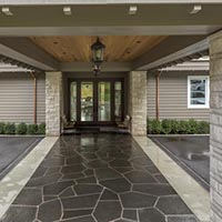 country estate limesone ashlar