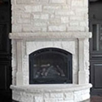 stone fireplaces & bbqs
