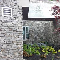 mountain chalet ledgestone