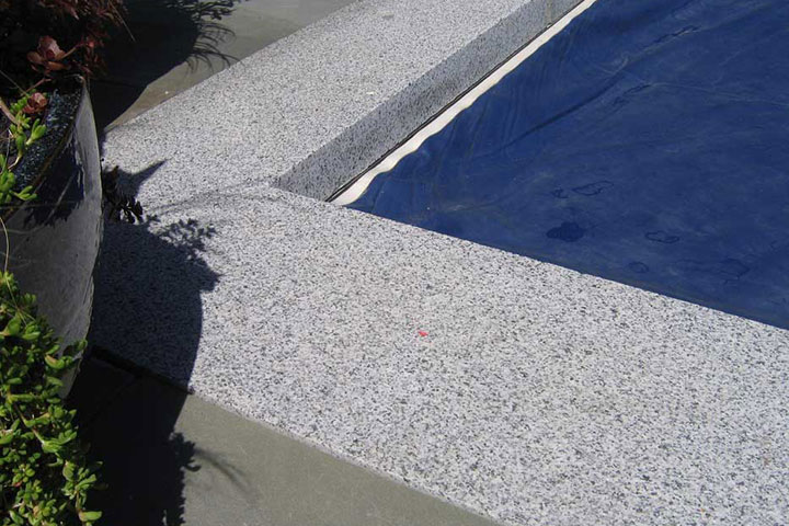 Hardy Island Granite Coping Bedrock Natural Stone