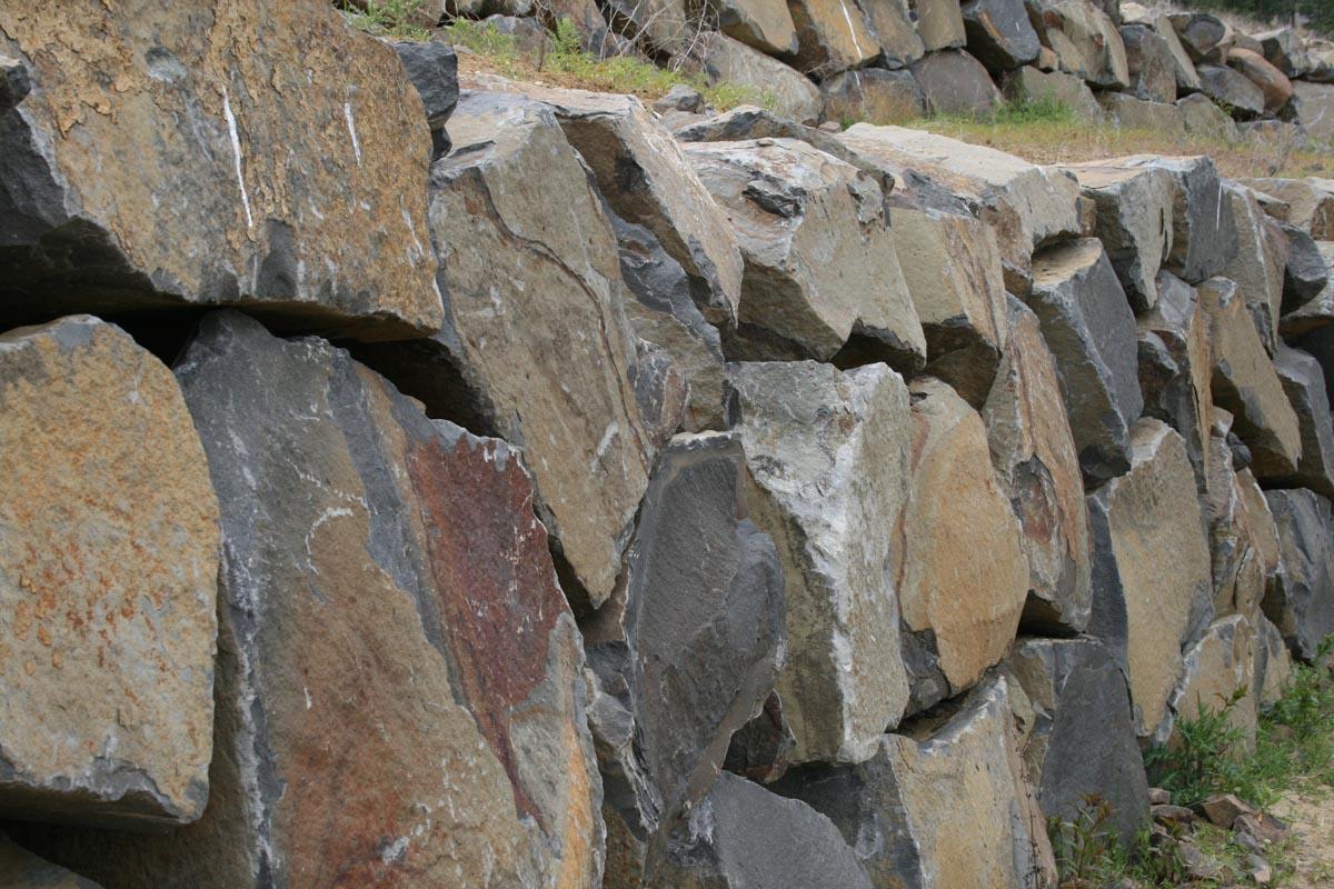 Stone Columns Black Tusk Basalt Landscaping
