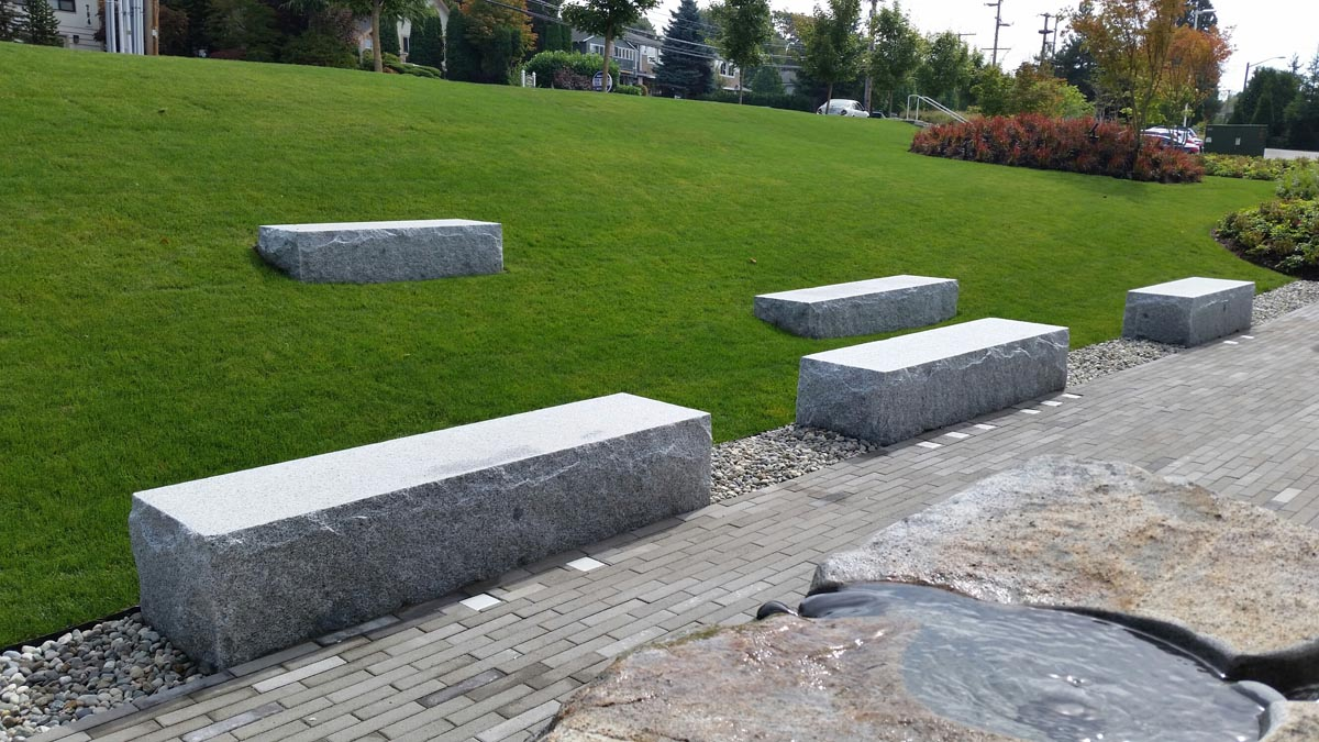 Extremely Large Stone Block : Granite blocks and slabs custom hardy island natural stone