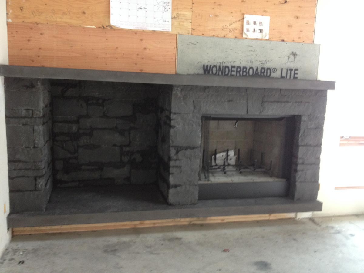 stone fireplace surround bedrock natural stone. Black Bedroom Furniture Sets. Home Design Ideas